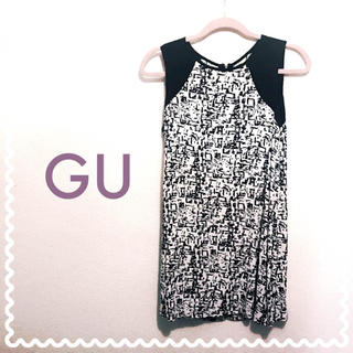 ジーユー(GU)のGU♡ワンピース(ミニワンピース)
