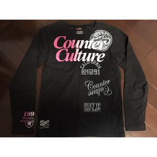 カウンターカルチャー(Counter Culture)のcounter culture ロンT 150サイズ(Tシャツ/カットソー)
