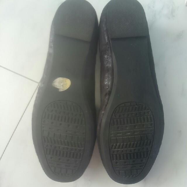 あしながおじさん(アシナガオジサン)のオペラカッターシューズ 黒 レディースの靴/シューズ(ローファー/革靴)の商品写真