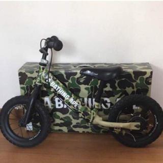 アベイシングエイプ(A BATHING APE)の4ing×BAPE KIDS kick bike ストライダー(自転車)