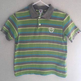 アベイシングエイプ(A BATHING APE)のBAPE KIDS ポロシャツ 120(その他)