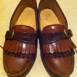 ヴィンテージローファー(ローファー/革靴)
