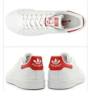 アディダス(adidas)の新品 送料無料 アディダス スタンスミス レッド(スニーカー)
