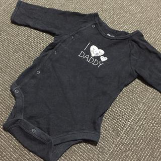 ベビーギャップ(babyGAP)のbaby Gap 長袖ロンパース 70(ロンパース)