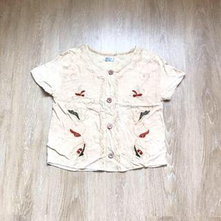 グリモワール(Grimoire)のvintage used  刺繍Tシャツ(Tシャツ(半袖/袖なし))