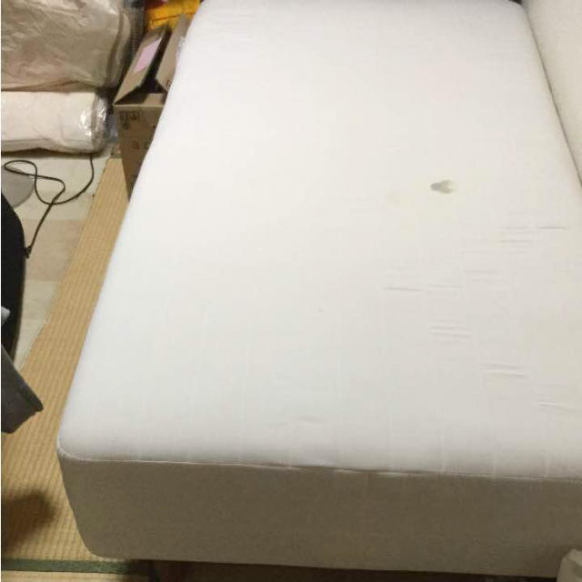 MUJI (無印良品)(ムジルシリョウヒン)の無印良品 ベッド シングルベッド マットレス インテリア/住まい/日用品のベッド/マットレス(シングルベッド)の商品写真