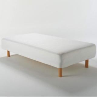ムジルシリョウヒン(MUJI (無印良品))の無印良品 ベッド シングルベッド マットレス(シングルベッド)