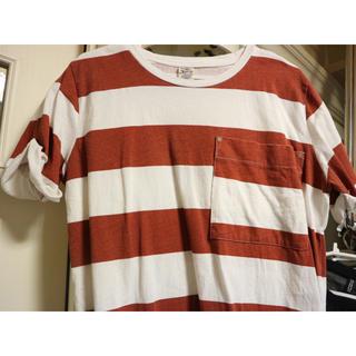 ダブルネーム(DOUBLE NAME)のダブルネーム ボーダーT(Tシャツ(半袖/袖なし))
