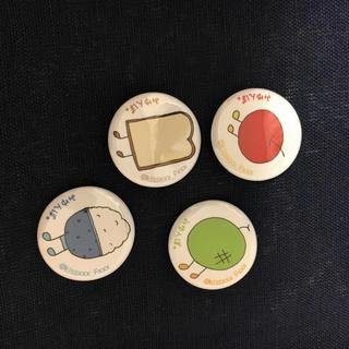 缶バッチ4種(その他)