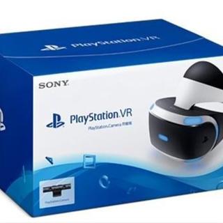 プレイステーションヴィーアール(PlayStation VR)の【送料無料】【超美品】PSVRカメラ同梱版(家庭用ゲーム機本体)