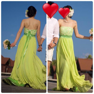 ウエディングドレス*カラードレス(ウェディングドレス)