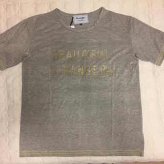 ミルクボーイ(MILKBOY)の【新品✨】MILKBOY ミルクボーイ ゴールドラメ ロゴ Tシャツ(Tシャツ/カットソー(半袖/袖なし))