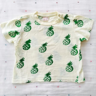 プティマイン(petit main)の美品 petit main Tシャツ(Tシャツ/カットソー)
