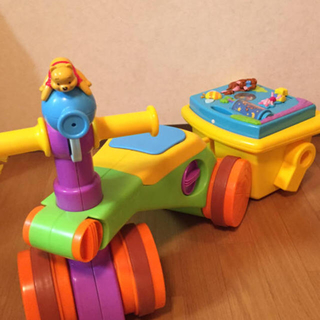 ディズニー(Disney)のプーさん カタカタorバイク(手押し車/カタカタ)