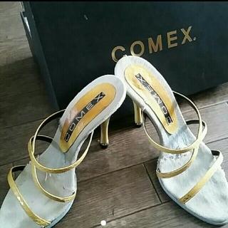 コメックス(COMEX)のCOMEX ピンヒール サンダル(ミュール)