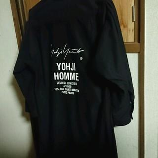 ヨウジヤマモト(Yohji Yamamoto)のたま様専用 Yohji Yamamoto スタッフシャツコート 9/19まで(シャツ)