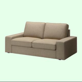 イケア(IKEA)のポン太様 IKEA ソファーカバー2人掛け イースンダベージュ(ソファカバー)