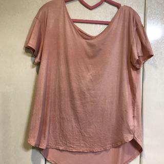 エイミーイストワール(eimy istoire)のeimy istoire Tシャツピンク(Tシャツ(半袖/袖なし))