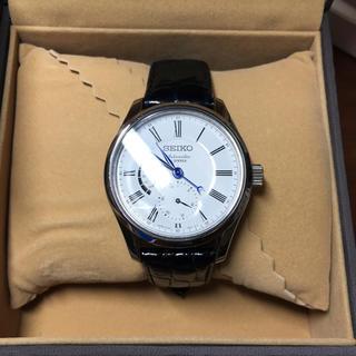 セイコー(SEIKO)の新品 未使用 SEIKO 腕時計 PRESAGE 琺瑯ダイヤル メカニカル 自動(腕時計(アナログ))