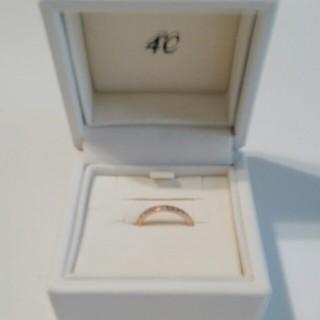 ヨンドシー(4℃)のピンキーリング(リング(指輪))
