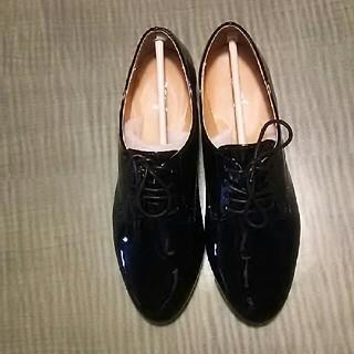黒エナメル(ローファー/革靴)