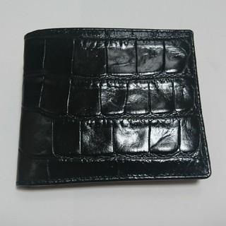バーニーズニューヨーク(BARNEYS NEW YORK)の【SALE】J&M DAVIDSON 小銭入れ付き2つ折り財布(折り財布)