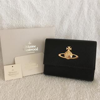 ヴィヴィアンウエストウッド(Vivienne Westwood)の新品 ヴィヴィアン 折り財布 黒(財布)