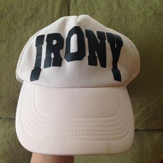 アイロニー(IRONY)のアイロニー  キャップ(キャップ)