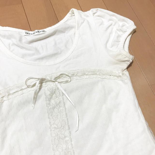 JAYRO White(ジャイロホワイト)のJAYRO white トップス レディースのトップス(Tシャツ(半袖/袖なし))の商品写真