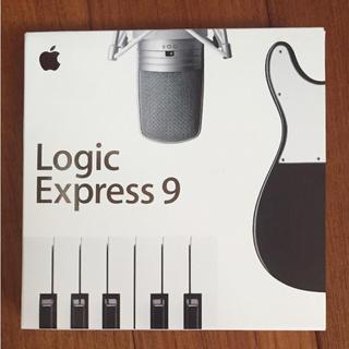 アップル(Apple)のLogic Express 9 美品 送料込み(ソフトウェア音源)
