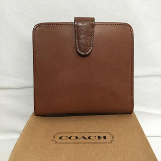 コーチ(COACH)のCOACH コーチ オールド 折り畳み財布 正規品(財布)