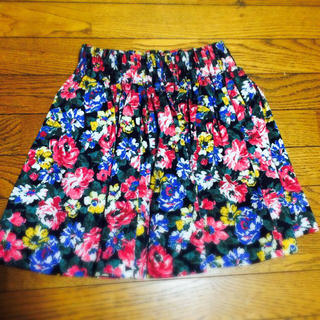 ローリーズファーム(LOWRYS FARM)のローリーズ花柄スカート♡(ミニスカート)
