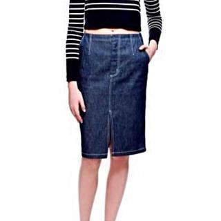 ルシェルブルー(LE CIEL BLEU)のルシェルブルーデニムスカート(ひざ丈スカート)