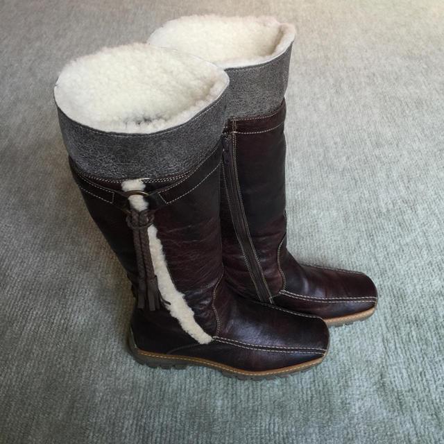 ロングブーツ ブラウン  レディースの靴/シューズ(ブーツ)の商品写真
