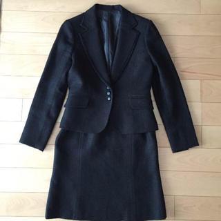 ナチュラルビューティーベーシック(NATURAL BEAUTY BASIC)のWhite joola♡ スカートスーツ M(スーツ)
