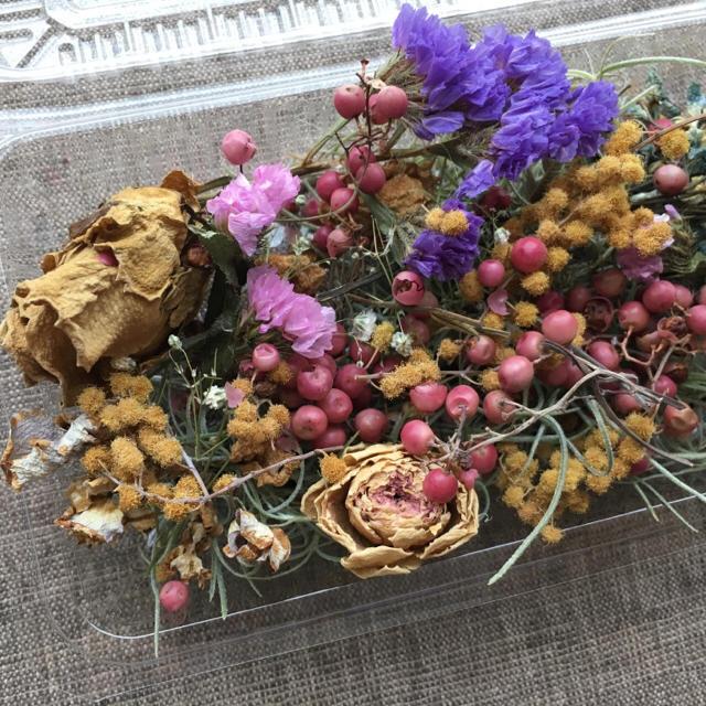 63番【B級品】花材詰め合わせ・ドライフラワー☆送料無料 ハンドメイドのフラワー/ガーデン(ドライフラワー)の商品写真