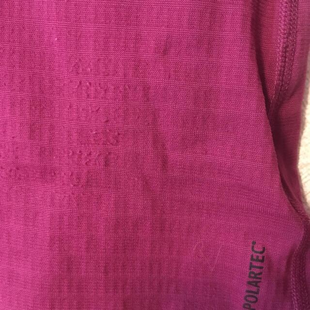 Mammut(マムート)のマムート ジップアップベースレイヤー長袖 【ピンク】レディース スポーツ/アウトドアのアウトドア(登山用品)の商品写真