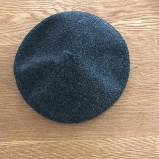 キャトルセゾン(quatre saisons)のキャトルセゾン ウール100% ベレー帽(ハンチング/ベレー帽)