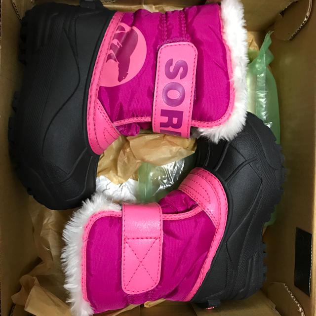 SOREL(ソレル)のはむぞう様専用 ソレル キッズブーツ13.0 キッズ/ベビー/マタニティのベビー靴/シューズ(~14cm)(ブーツ)の商品写真