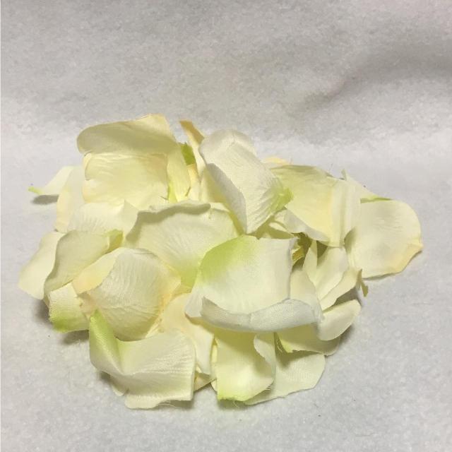 花びら 白 黄色 ハンドメイドの素材/材料(各種パーツ)の商品写真
