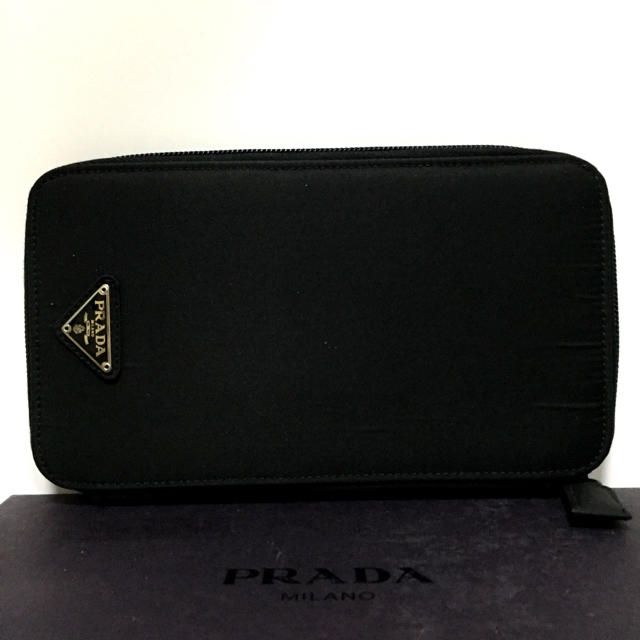 PRADA(プラダ)の❤️ 極上美品 プラダ ナイロン 長財布 正規品 鑑定済 ❤️ レディースのファッション小物(財布)の商品写真