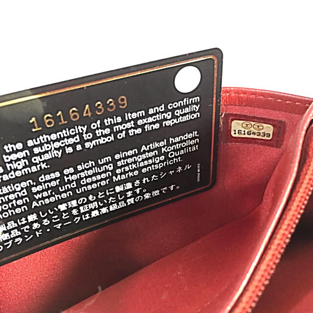 CHANEL(シャネル)の鑑定済み正規品 シャネルカメリアジップ長財布 レディースのファッション小物(財布)の商品写真
