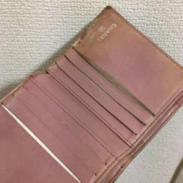 CHANEL(シャネル)の本物シャネルの黒カメリア模様のお財布   レディースのファッション小物(財布)の商品写真