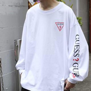 ゲス(GUESS)のGUESS ゲス ロンT オーバーサイズ(Tシャツ/カットソー(七分/長袖))
