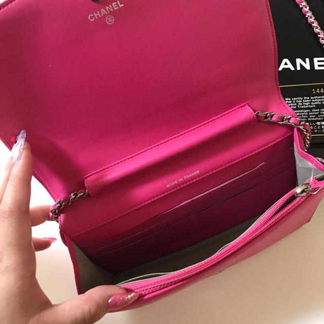 CHANEL(シャネル)の正規品 CHANEL チェーンウォレット  レディースのファッション小物(財布)の商品写真