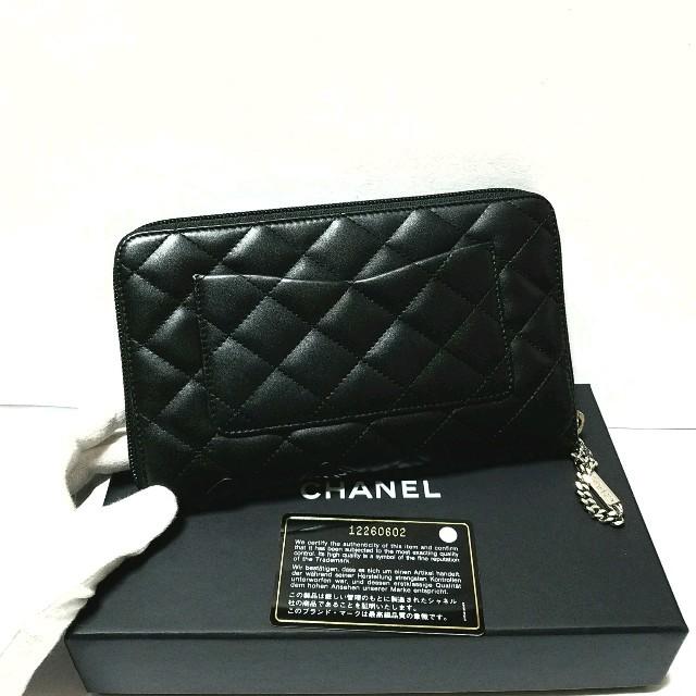 CHANEL(シャネル)の◆シャネル・美品正規品◆カンボンライン/オーガナイザー長財布 レディースのファッション小物(財布)の商品写真