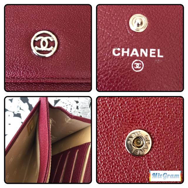 CHANEL(シャネル)の✞CHANEL  RED中財布✞ レディースのファッション小物(財布)の商品写真