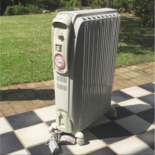 デロンギ(DeLonghi)の値下げ‼︎  デロンギ オイルヒーター インテリアにも雰囲気作りに活躍‼︎(オイルヒーター)