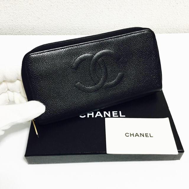 CHANEL(シャネル)の756❤️超値下げ!!❤️シャネル❤️ジップ 長財布❤️正規品鑑定済み❤️ レディースのファッション小物(財布)の商品写真