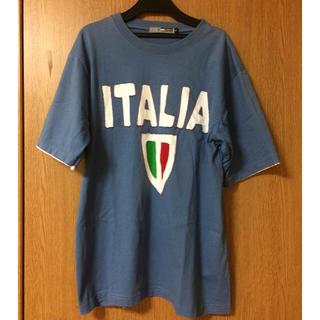 ブルーゾーン イタリアロゴTシャツ ITALIA(Tシャツ/カットソー(半袖/袖なし))